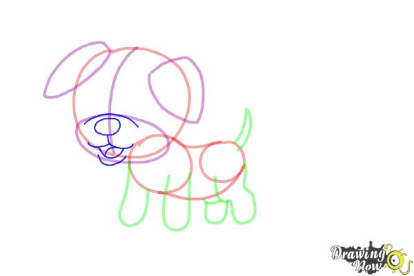 How to Draw a Baby Dog   DrawingNow   How To Draw A Baby Puppy
