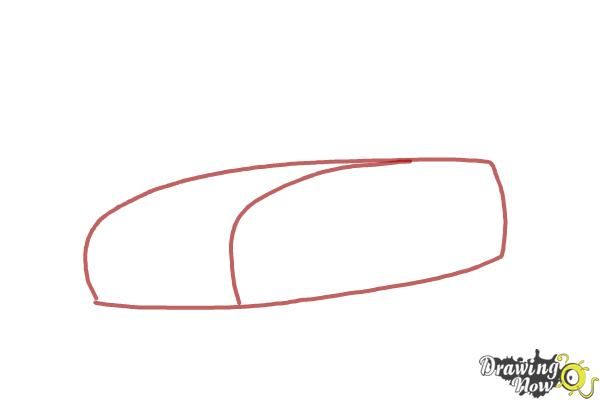 how to draw a car steps