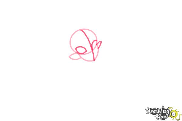 How to Draw Gilda Goldstag from Monster High - Step 3