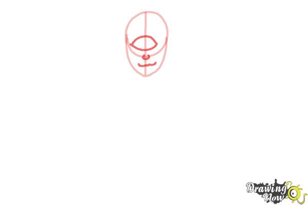 How to Draw Iris Clops from Monster High - Step 3