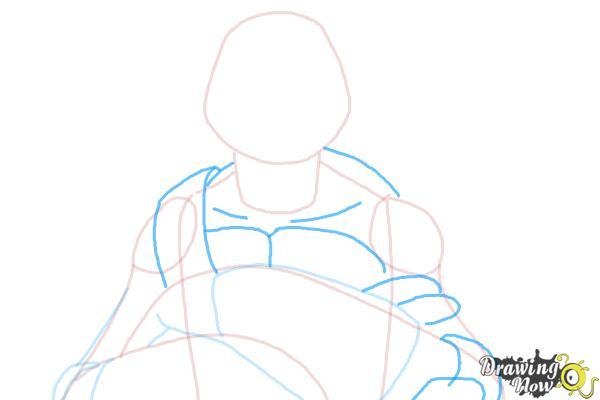 How to Draw Donatello from Teenage Mutant Ninja Turtles 2014, Tmnt - Step 5