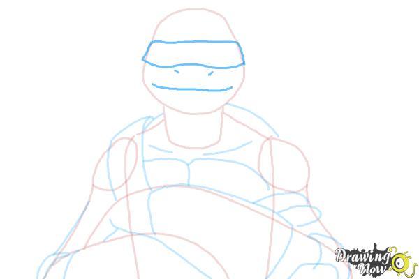 How to Draw Donatello from Teenage Mutant Ninja Turtles 2014, Tmnt - Step 6