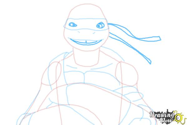 How to Draw Donatello from Teenage Mutant Ninja Turtles 2014, Tmnt - Step 7