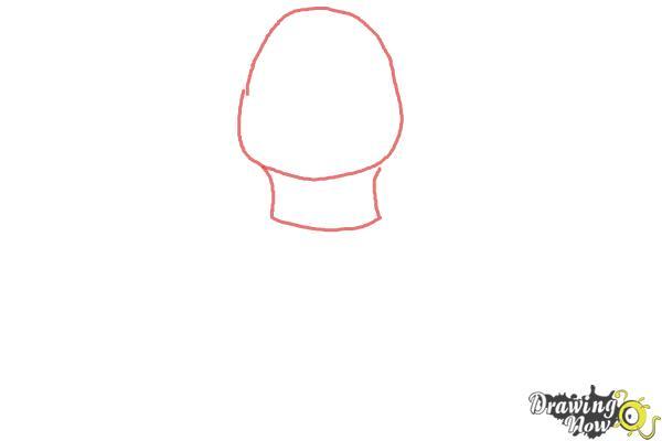How to Draw Leonardo from Teenage Mutant Ninja Turtles 2014, TMNT - Step 1