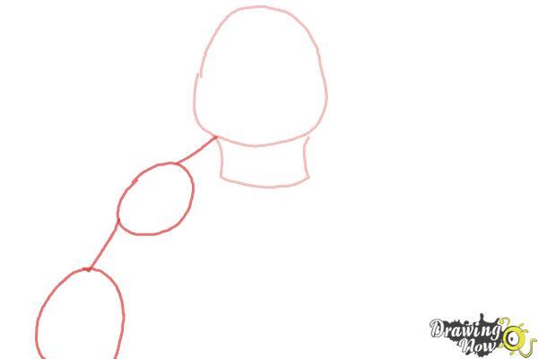 How to Draw Leonardo from Teenage Mutant Ninja Turtles 2014, TMNT - Step 2
