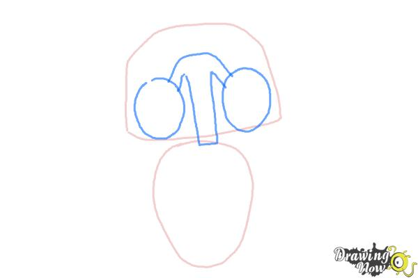 How to Draw Echo from Earth to Echo - Step 2