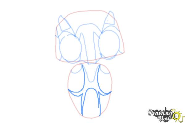 How to Draw Echo from Earth to Echo - Step 5