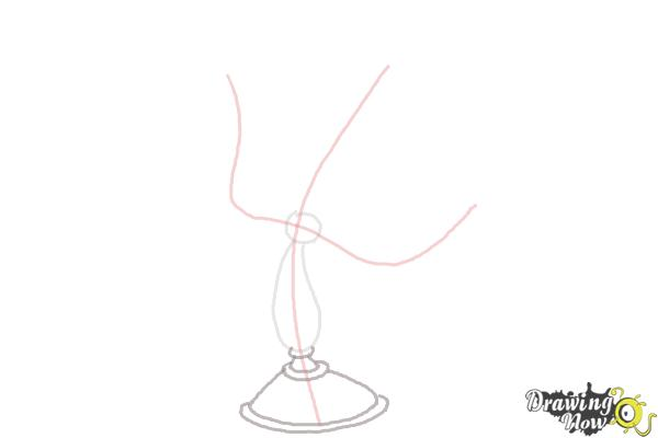 How to Draw Lumiere from Beauty And The Beast - Step 3