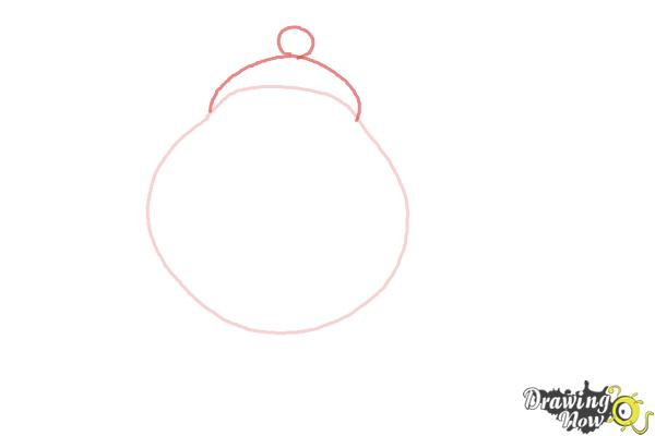 How to Draw Mrs. Potts And Chip from Beauty And The Beast - Step 2