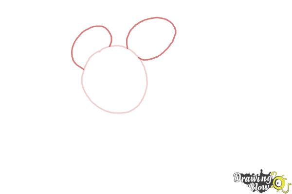 How to Draw Runaway Brain, Disney Villain - Step 2