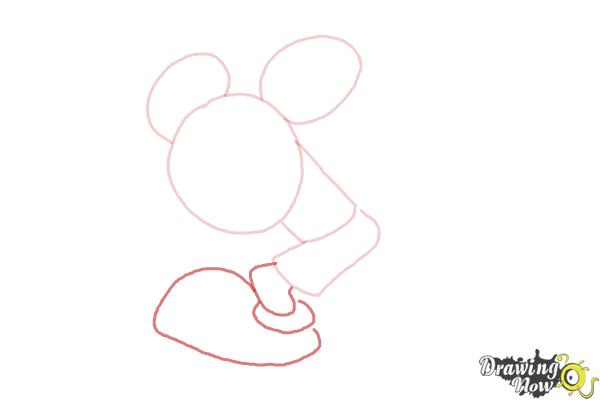 How to Draw Runaway Brain, Disney Villain - Step 4