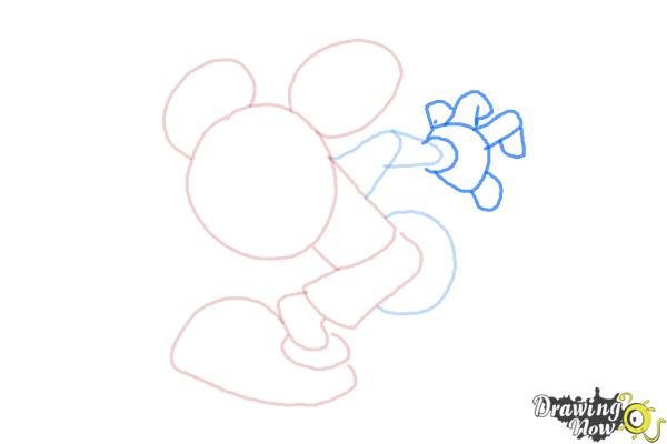 How to Draw Runaway Brain, Disney Villain - Step 6