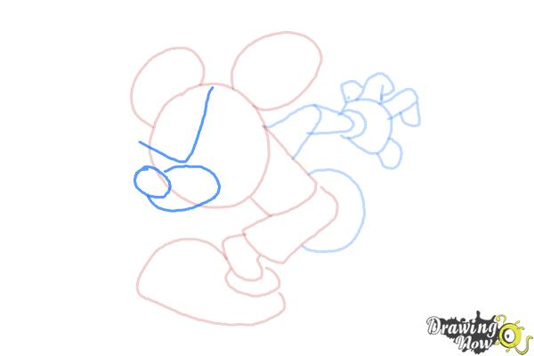 How to Draw Runaway Brain, Disney Villain - Step 7