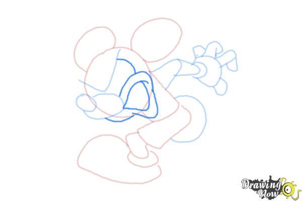 How to Draw Runaway Brain, Disney Villain - Step 8
