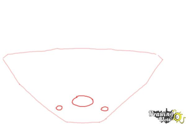 How to Draw The Busch Stadium - Step 2