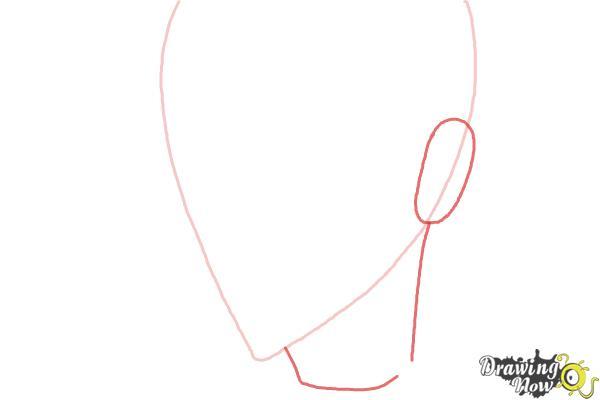 How to Draw Luze Crosszeria from Betrayal Knows My Name - Step 2