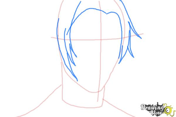 How to Draw Claude Faustus from Black Butler - Step 4