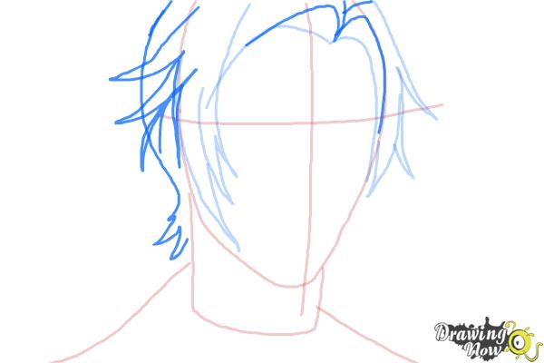 How to Draw Claude Faustus from Black Butler - Step 5