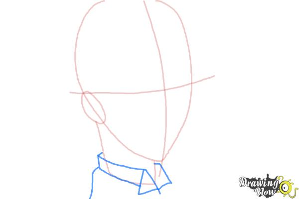 How to Draw Snake from Black Butler - Step 4