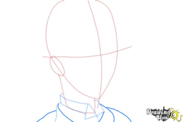 How to Draw Snake from Black Butler - Step 5