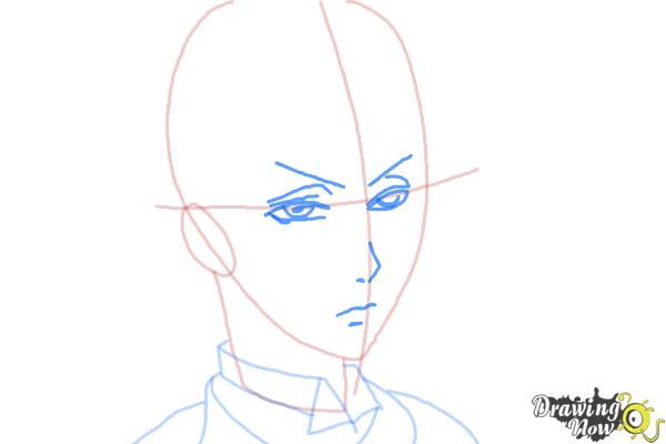 How to Draw Snake from Black Butler - Step 6