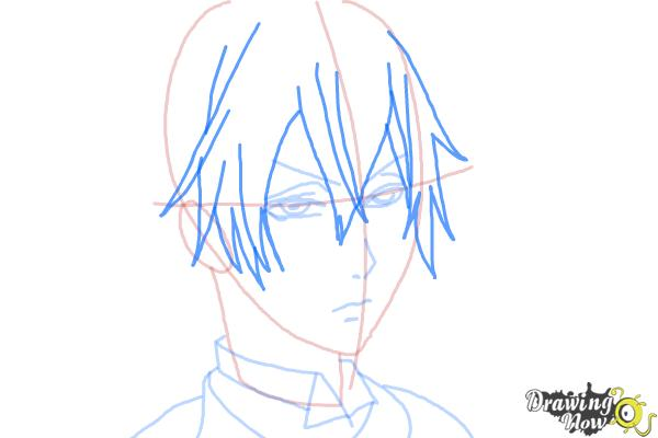 How to Draw Snake from Black Butler - Step 7