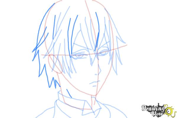 How to Draw Snake from Black Butler - Step 8