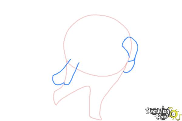 How to Draw Teddie from Persona 4 - Step 3