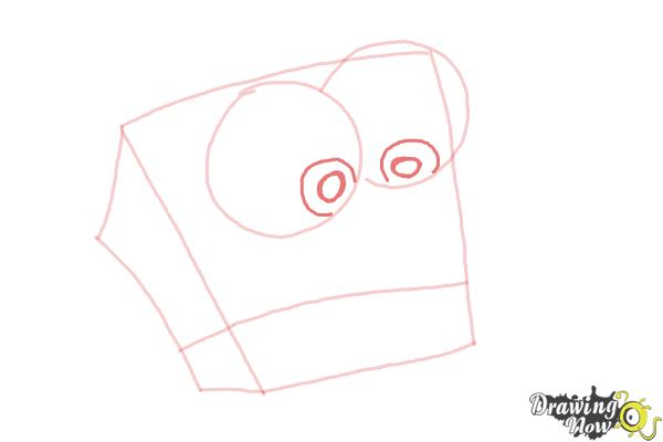 How to Draw Baby Spongebob Squarepants - Step 4