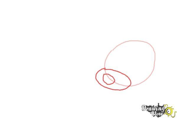 How to Draw a Sleeping Dog - Step 2