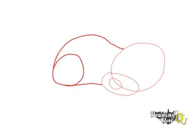 How to Draw a Sleeping Dog - Step 3