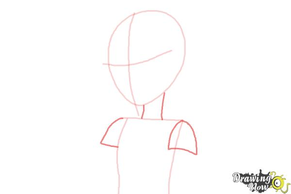 How to Draw Vice Principal Luna from Equestria Girls - Step 4