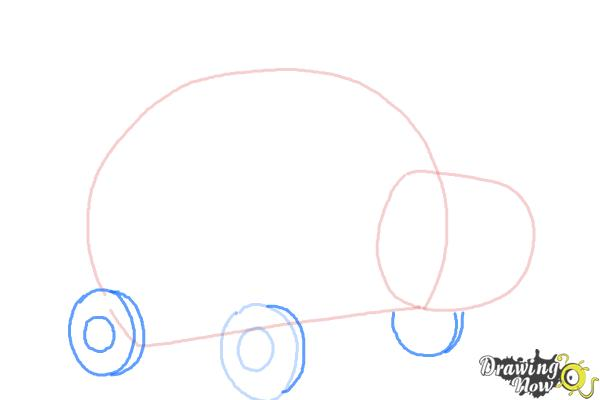 How to Draw Xyla from Doc Mcstuffins - Step 3