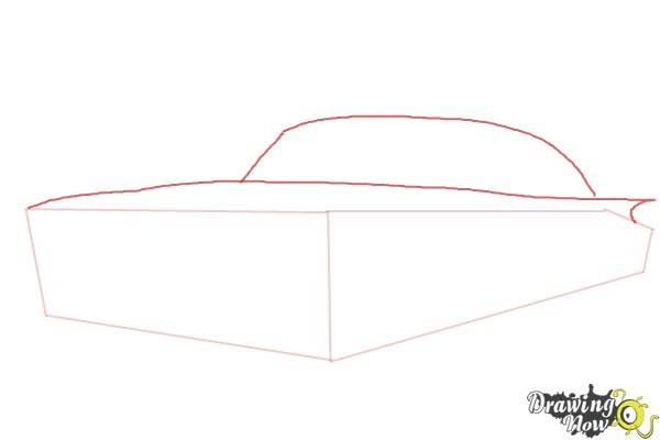 How to Draw a Chevrolet Impala - Step 2