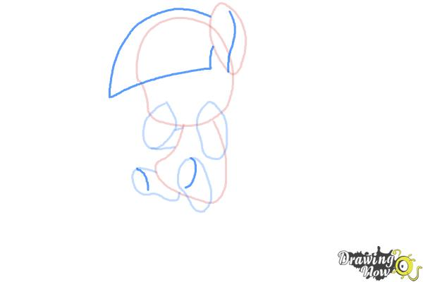 How to Draw Chibi Twilight Sparkle from My Little Pony Friendship Is Magic - Step 5