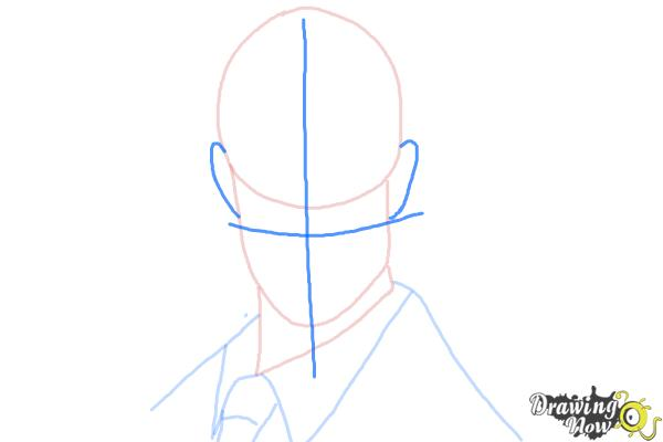How to Draw The Spy from Team Fortress 2 - Step 5