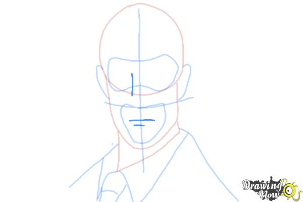 How to Draw The Spy from Team Fortress 2 - Step 7