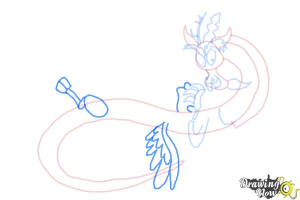How to Draw Discord from My Little Pony Friendship Is Magic - Step 8