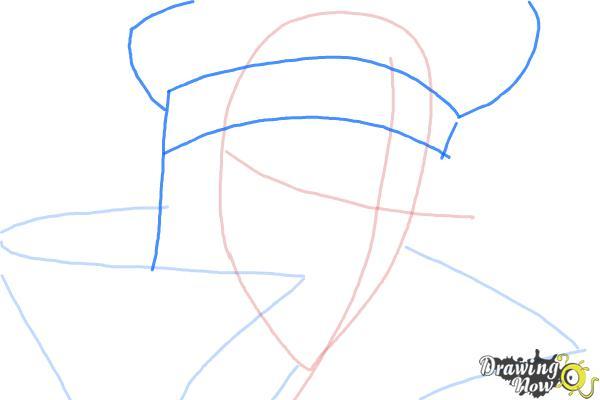 How to Draw Reiga, Wakamiya Kanata from Betrayal Knows My Name - Step 4