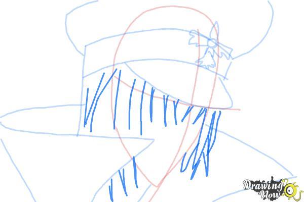 How to Draw Reiga, Wakamiya Kanata from Betrayal Knows My Name - Step 6