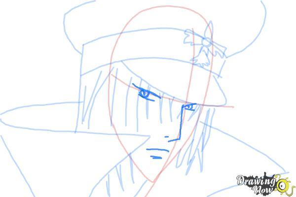 How to Draw Reiga, Wakamiya Kanata from Betrayal Knows My Name - Step 7