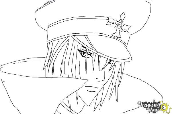 How to Draw Reiga, Wakamiya Kanata from Betrayal Knows My Name - Step 8