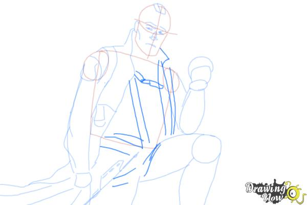 How to Draw Yondu from Guardian Of The Galaxy - Step 7