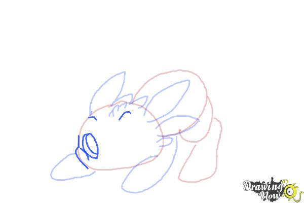 How to Draw Chibi Toothless - Step 6