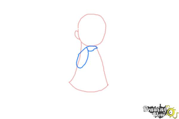 How to Draw a Cute Girl - Step 3