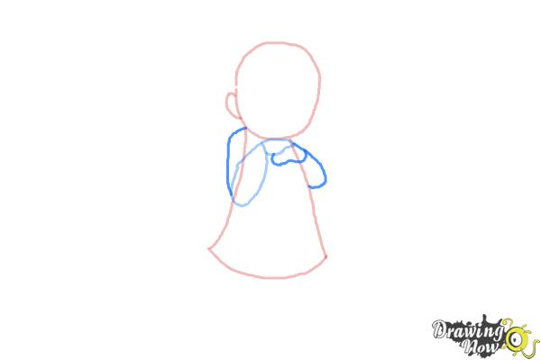 How to Draw a Cute Girl - Step 4