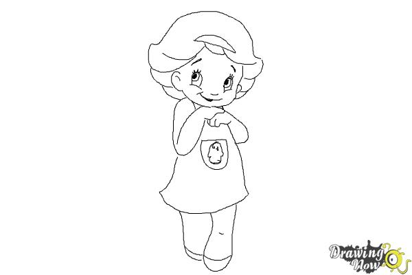 How to Draw a Cute Girl - Step 8