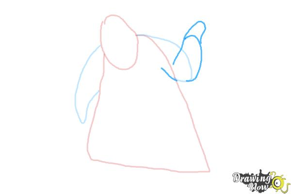 How to Draw Oogie Boogie, Disney Villain - Step 4