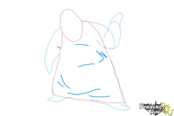 How to Draw Oogie Boogie, Disney Villain - Step 6