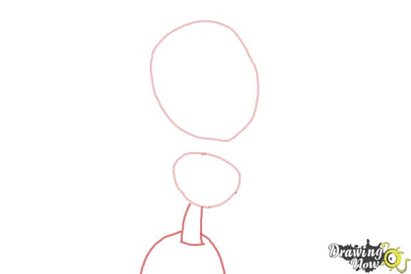 How to Draw Maria from The Book of Life - Step 2